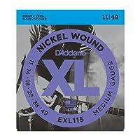 D'Addario/ダダリオ EXL115×5セット エレキギター弦 Blues/Jazz Rock [11-49]