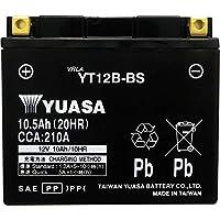台湾製 バイクバッテリー 国内液入 初期補充電済 YUASA 純正互換品 (YT12B-BS / GT12B-4 / FT12B-4 互換)