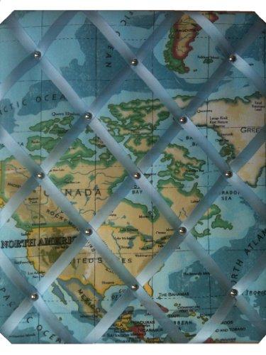 Notice Boards/Memo Boards/Large 40x48cm, World Map, Bulletin Boards, Message Boards, Deel van de Wereld Geleverd Kan Vary Van Beeld Getoond