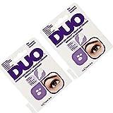 DUO Individual Lash Adhesive, Clear 0.25 oz x 2 packs
