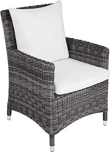 Estilo de la moda de las fundas de cojines decorativos caseros ratán sillón de jardín son fáciles de limpiar ligero y duradero,Brown