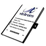 VINTRONS BNRB1530, BNRZ1000, Nook Classic Replacement Battery for Barnes & Noble 005, BNRV100, BNRZ100, Nook Classic