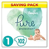 Pampers - Pure protection pañales, unisex