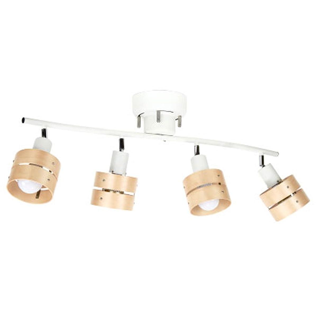 グリット配置管理ボーベル(BeauBelle) シーリングライト 4灯 レダ ホワイト?ライトナチュラル LED対応 BBS-049WLN