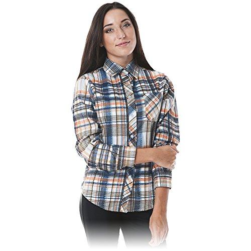 REIS Damen ARBEITSHEMD KFL S-XXL KARIERT Flanellhemd Holzfällerhemd Karohemd Frauen