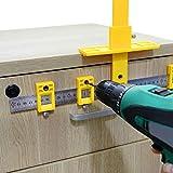 LAMF Herramienta de medición de carpintería ajustable...