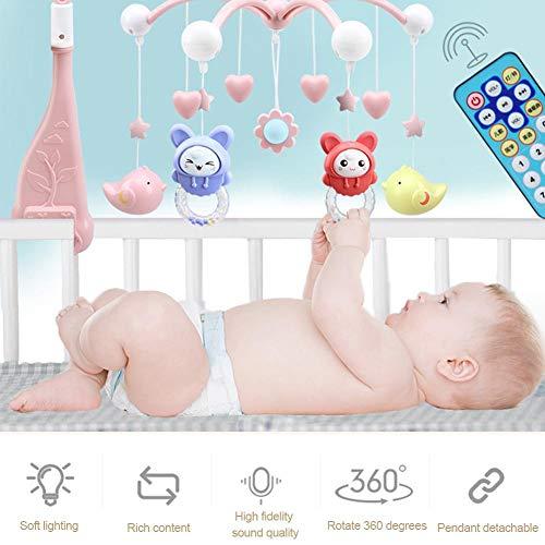 Oddity Bebé Cuna Musical móvil con función de temporización Luces ...