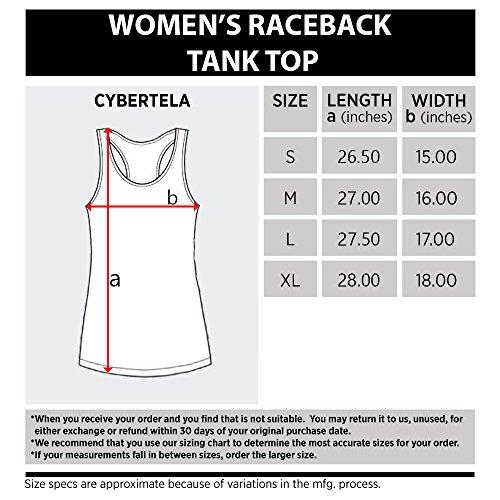Cybertela Women's Bitches Be Lifting Racerback Tank Top (Black, Large)