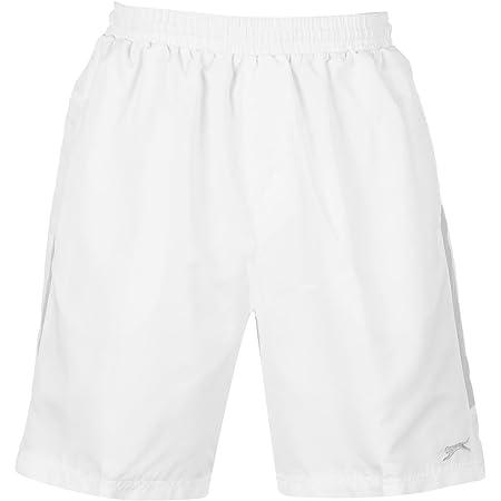 Slazenger Mens Woven Shorts Bottoms Drawstring Fastening Short Pants Clothing Navy XL
