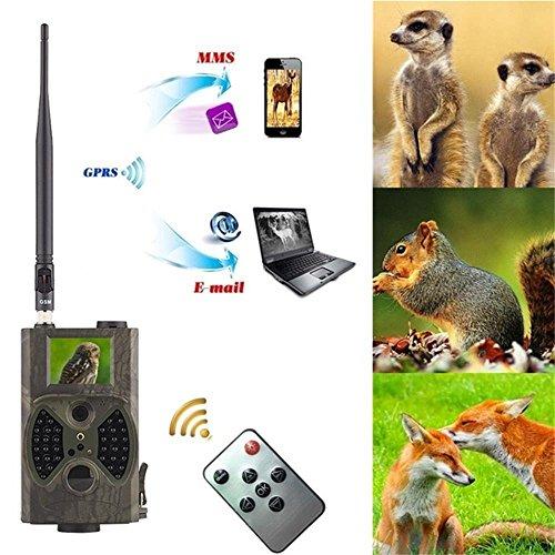 Zhengyao Wildkamera HC-300M, GSM, MMS, GPRS, Suntek mit 940 nm (nicht invasive) Infrarot-LED für Nachtsicht, Outdoor-Kamera für die Jagd, kabellose Kamera