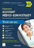 Concours Assistant médico-administratif 2020-2021 - Tout-en-un cours externe et interne - Tout-en-un cours externe et interne - Branche Secrétariat médicalCatégorie B - Con (2020-2021)
