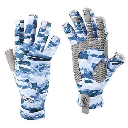 Palmyth UV Protection Fishing Fingerless Gloves UPF50+ Sun...