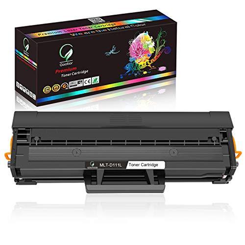Gootior Toner Compatibile per Samsung MLT-D111S D111L, 1800 Pagine, Ad elevata Capacità Compatibile con Stampanti Samsung Xpress M2022 M2026 M2022W M2070 M2020 M2070F M2070FW M2070W, Nero, Kti 1
