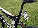 Soporte de Matrícula para Bicicleta Eléctrica Ebike Bicicleta Eléctrica Soporte Matrícula Placa de Seguro Soporte Universal
