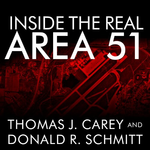 Inside the Real Area 51 audiobook cover art