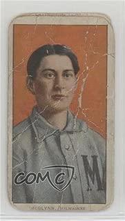 Stoney McGlynn Ungraded COMC Poor (Baseball Card) 1909-11 T206 - [Base] - Piedmont 350-460 Factory No. 25 Back #STMC