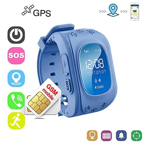 Winnes Reloj Localizador Niños GPS Localizador Niños