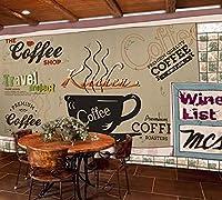 壁紙 壁紙3 dカフェ素朴なスタイルのキッチン壁紙3D壁画ベッドルーム-3D_250x175cm