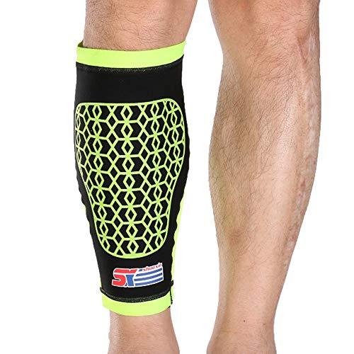 HXXBY Deportes de impresión de Silicona Protección de Pantorrilla SXB31 Deportes Hombres y Mujeres Tendencia Tendencia Ciclismo Ciclismo Fitness (Color : 1 Yellow, tamaño : M)