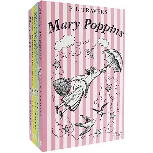 Collezione di 5 libri di Mary Poppins (edizione in lingua inglese)