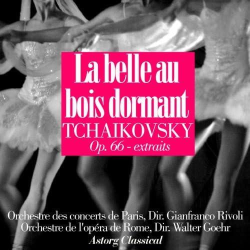 Orchestre de l'opéra de Rome, Walter Goehr, Orchestre des concerts de Paris, Gianfranco Rivoli