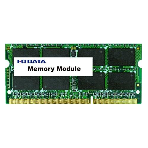 アイ・オー・データ機器 アイ・オー・データ ノートPC用 PC3Lー12800 DDR3Lー1600 対応メモリー 低電圧/低消費電力モデル 4GB SDY1600L-H4G