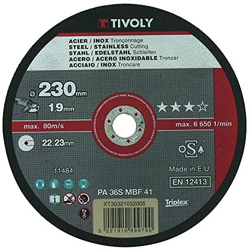 Disco Lijador Para Metal 230 Mm