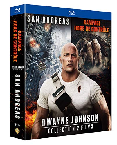 Coffret dwayne johnson 2 films : rampage ; san andreas [Blu-ray] [FR Import]