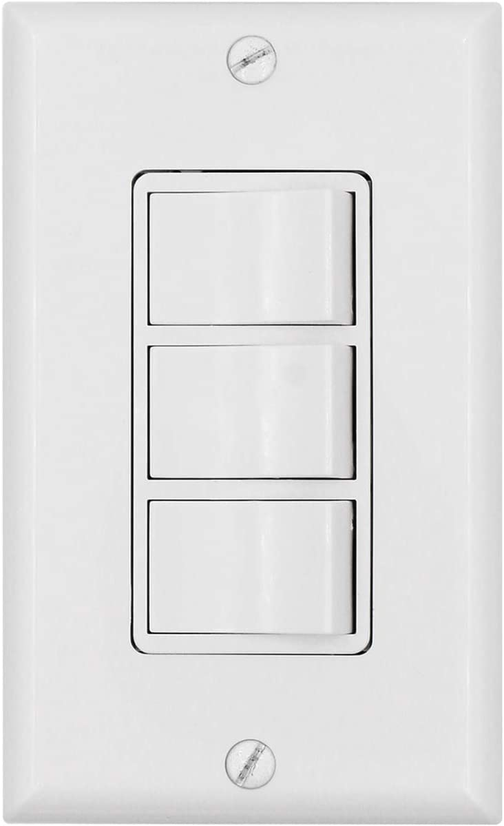 Baomain Triple Rocker Combination OFFicial Switch Oakland Mall 15 120 Ind 3 Amp Volt