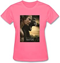 Dotion Women's The Legend of Tarzan Design T Shirt