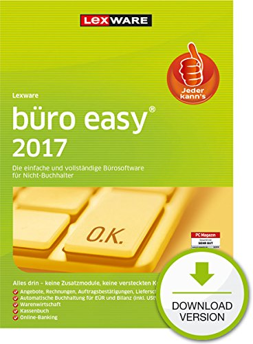 Lexware büro easy 2017 - Standard [PC Download]