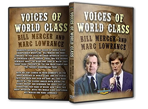 Voices of World Class Wrestling DVD-R