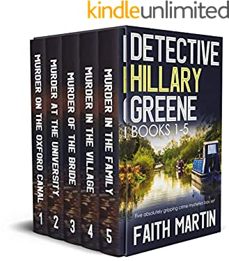 DETECTIVE HILLARY GREENE BOOKS 1–5 five absolutely gripping crime mysteries box set (Cozy crime and suspense mystery box sets)