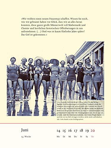 Frauenliteratur Kalender 2021
