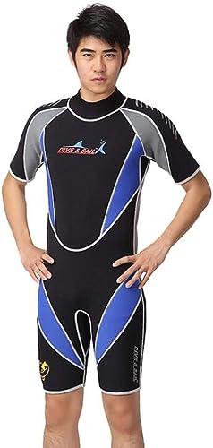CHUANGFU Combinaison de plongée Chaude pour Hommes et Femmes Costume de Surf Maillot de Bain, Combinaison de plongée 3MM - séchage Rapide