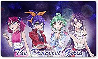 Bracelet Girls - Board Game Yugioh Playmat Games Table Mat Size 60X35 cm Mousepad MTG Play Mat for Yu-Gi-Oh! Pokemon Magic The Gathering