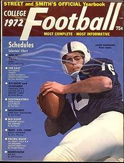Street & Smith's College Football Guide 1972 (John Hufnagel Penn State University Cover)