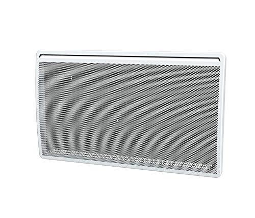 DREXON 814200 - Radiateur Panneau Rayonnant - 2000W - Anti-salissures - Thermostat éléctronique - Écran LCD - Coupure en cas de Surchauffe - Blanc