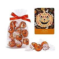 【公式】リンツ (Lindt) チョコレート リンドール ハロウィン [ ハロウィン限定 ] 10個入り 個包装 オリジナルジップバッグ付