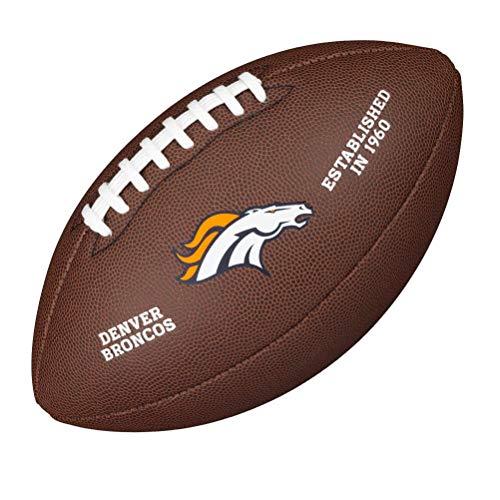 WILSON NFL Licensed Ball DN Football, braun, One Size