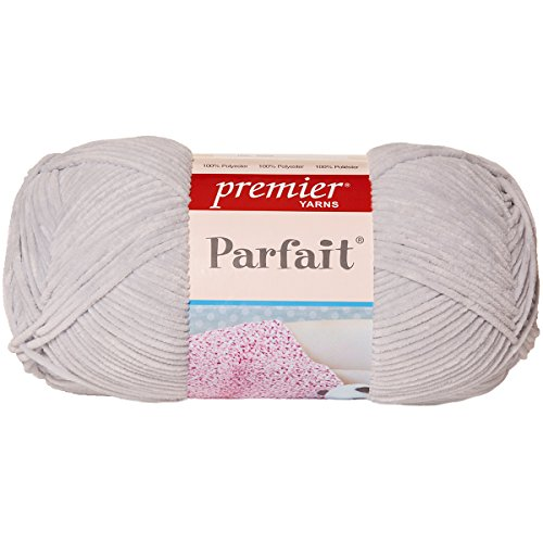 Premier Yarns 1044-09 Parfait Big Yarn-Pale Gray