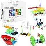 6 Set STEM Kit,DC Motors Electronic Assembly...