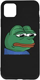 Sad Pepe The Frog I-Phone 11 Pro max Full Body Protection Shockproof Cover Case Drop Protection for Phone