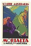 Pacifica Island Art Kunstdruck, Motiv Morialta, South