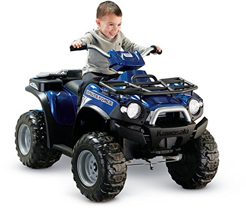 Fisher-Price Power Wheels Kawasaki Brute Force Ride-On