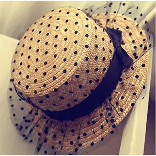 TYMDM zonnehoed boogstrohoed de nieuwe goede kwaliteit platte zonnehoed vrouwen voor vrouwen zet hoed chapeau femme op het strand