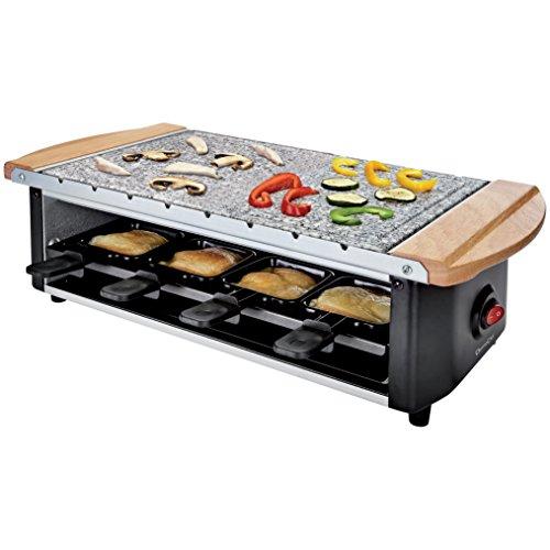 Domoclip, Set per Raclette + griglia, colore Nero