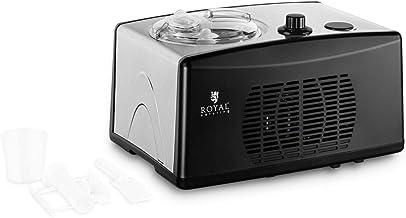 Royal Catering Machine À Glace Crème Glacée Sorbetière Turbine Professionnelle Sorbet Yaourt Glacé RC-CICM15 (1,5 l, 130 ...
