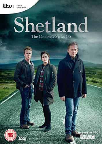 DVD8 - Shetland Series 1-5 (8 DVD)