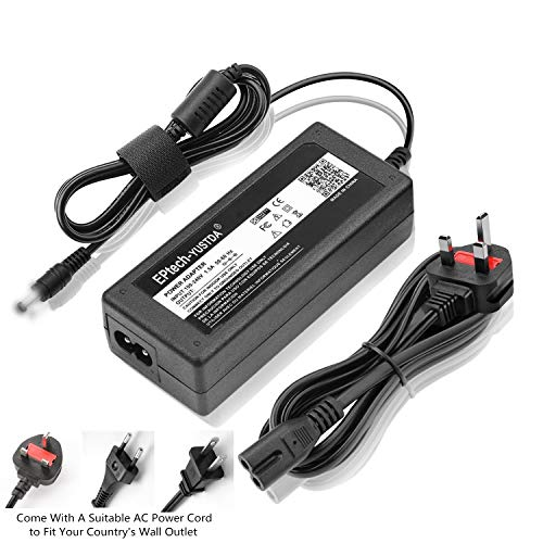 EPtech Replacement AC Adapter For Asus 298239-001, Asus 30-49013-01, Asus 310-0457, Asus 45LT19A, Asus 5542D Compatible Laptop Power AC Adapter Charger